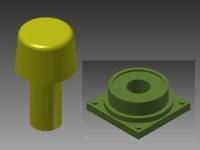 HO - DIESEL LOCOMOTIVE FLASHER BEACON - 3D-FLR-10