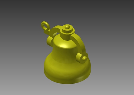 Aristocraft Pacific bell -3D printed part